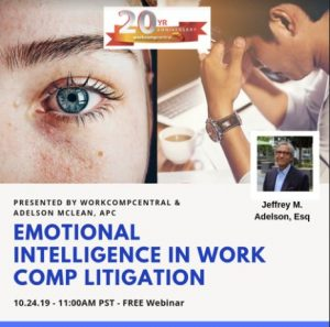 Emotional Intelligence in Work Comp