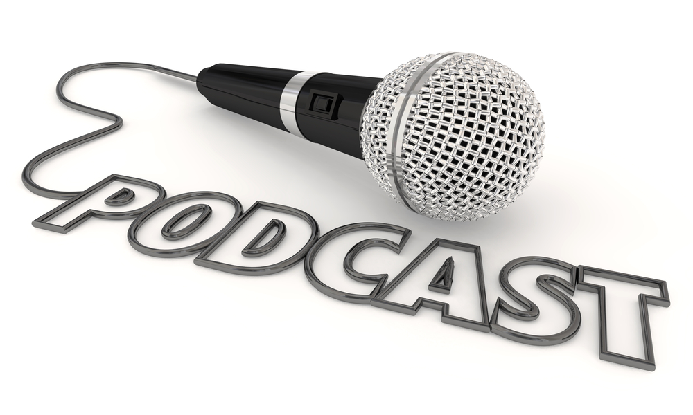 Podcast Mobile Program Show Audio File Microphone 3d Illustratio